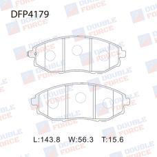 Колодки тормозные дисковые Double Force DFP4179