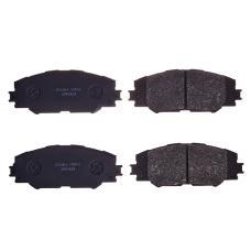 Колодки тормозные дисковые Double Force DFP3424