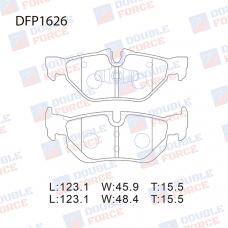 Колодки тормозные дисковые Double Force DFP1626