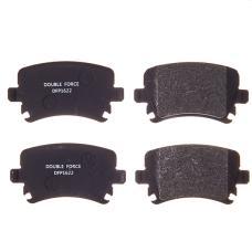 Колодки тормозные дисковые Double Force DFP1622