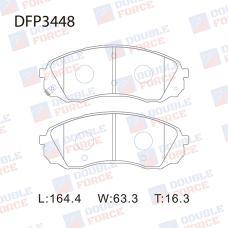 Колодки тормозные дисковые Double Force DFP3448