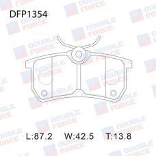 Колодки тормозные дисковые Double Force DFP1354