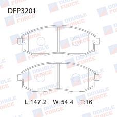 Колодки тормозные дисковые Double Force DFP3201