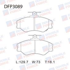 Колодки тормозные дисковые Double Force DFP3089