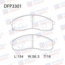 Колодки тормозные дисковые Double Force DFP3301