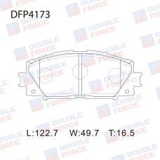 Колодки тормозные дисковые Double Force DFP4173