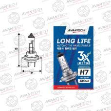 Лампа головного света Avantech H7 12V 55W, AB0041