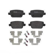 Дисковые тормозные колодки BREMBO P44017