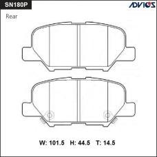 Дисковые тормозные колодки ADVICS SN180P
