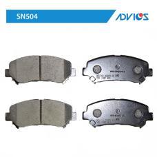 Дисковые тормозные колодки ADVICS SN504