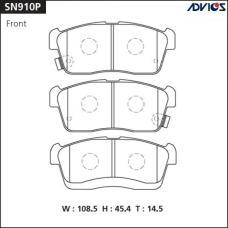 Дисковые тормозные колодки ADVICS SN910P